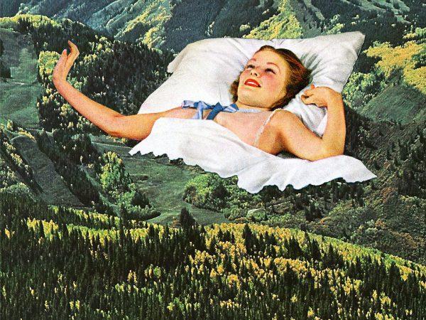 Los collages psicodélicos de Eugenia Loli. Al rescate de una técnica perdida