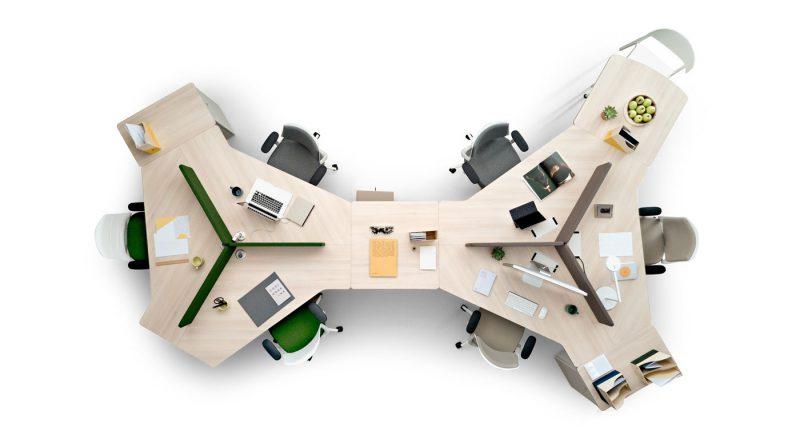 Whass, de ITEM Designworks. ¿Cómo trabajaremos en el futuro? Espacios humanos, saludables y funcionales