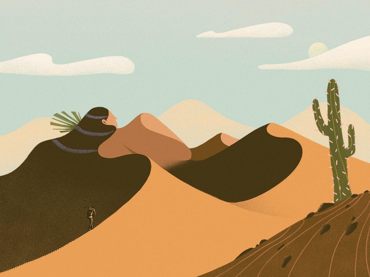 Odyssey, de Mikyung Lee. Ilustración editorial, surrealismo surcoreano