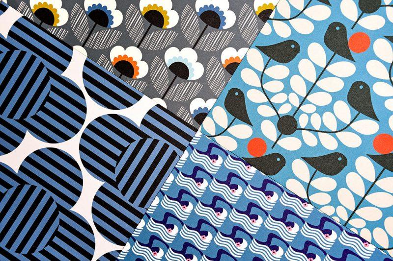 Orla Kiely, pasión por los estampados. Diseño textil con firma británica