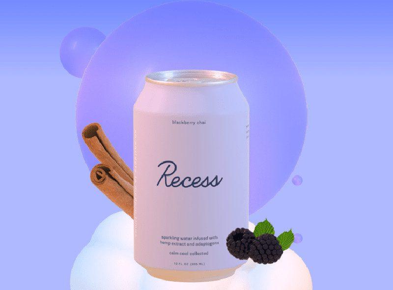 Recess, una nueva bebida con CBD que ya es furor entre millennials