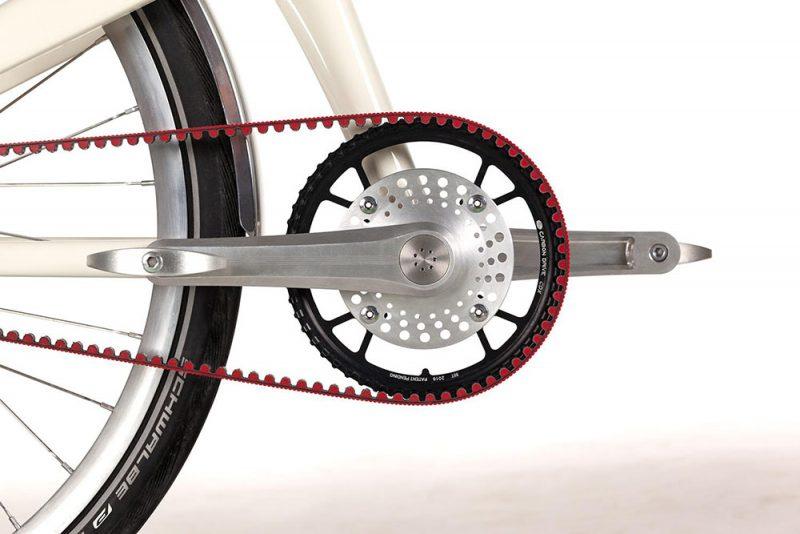 Coleen, el diseño de una bicicleta eléctrica. Sobriedad gala