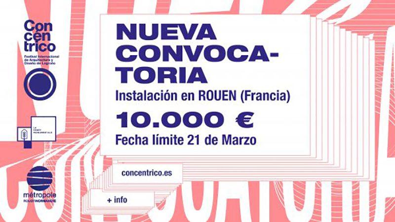 Concurso de Concéntrico, el Festival Internacional de Arquitectura y Diseño de Logroño.
