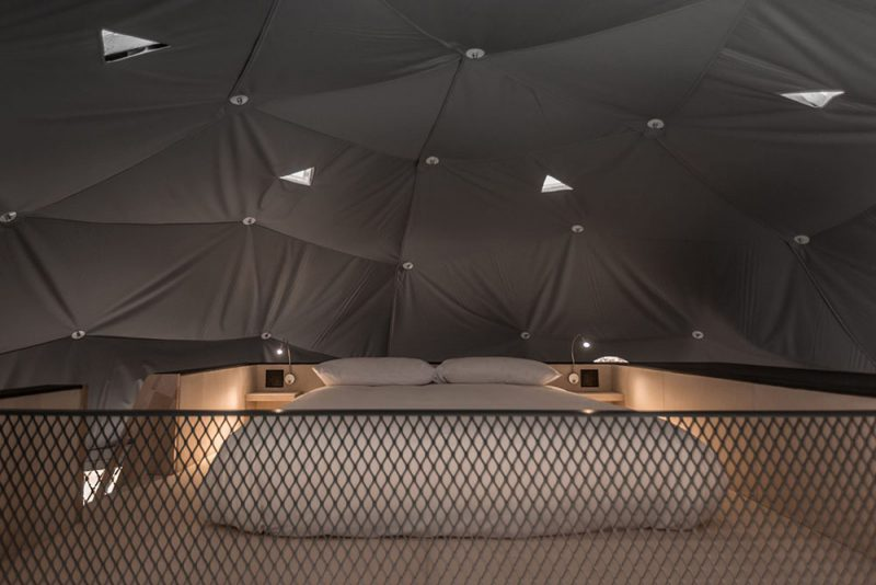 Dômes de Charlevoix, sistema de cúpulas geodésicas de Bourgeois / Lechasseur Architectes