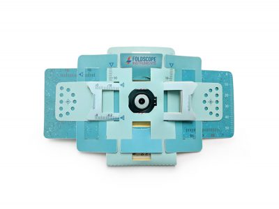 Foldscope, el microscopio de papel creado por Manu PrakashyJim Cybulski