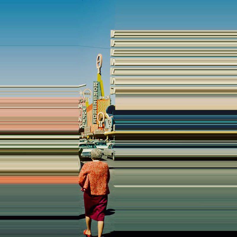 Las líneas que nos rodean, en la serie fotográfica de Frances Berry