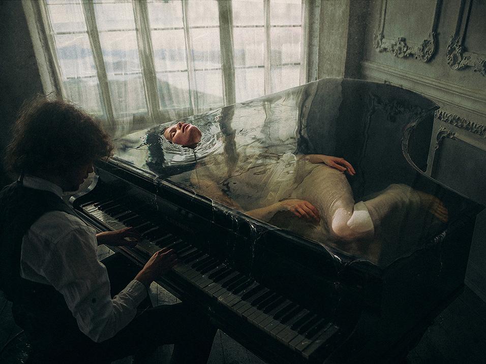 La fotografía de Dmitry Rogozhkin. Fotomanipulación rusa