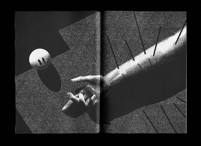 Texturas y surrealismo en las imágenes del ilustrador alemán Max Löffler