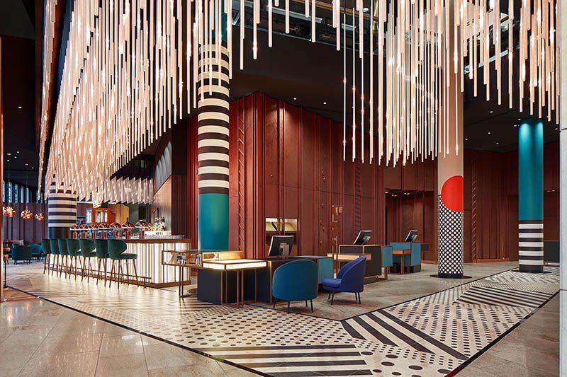Hotel Pullman Berlin: Inspiración Bauhaus en el diseño de las hermanas Sundukovy