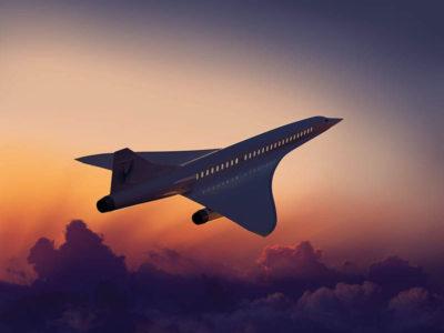 Los vuelos supersónicos están de vuelta y Manual ha diseñado su identidad