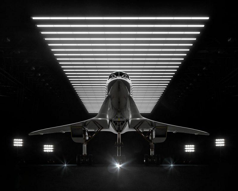 Manual diseña la identidad de marca de los vuelos supersónicos de Boom