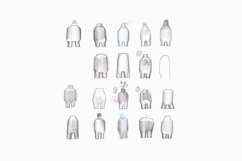 Nomes, minimalista y pictogramático. Un trabajo de Jiyoun Kim Studio