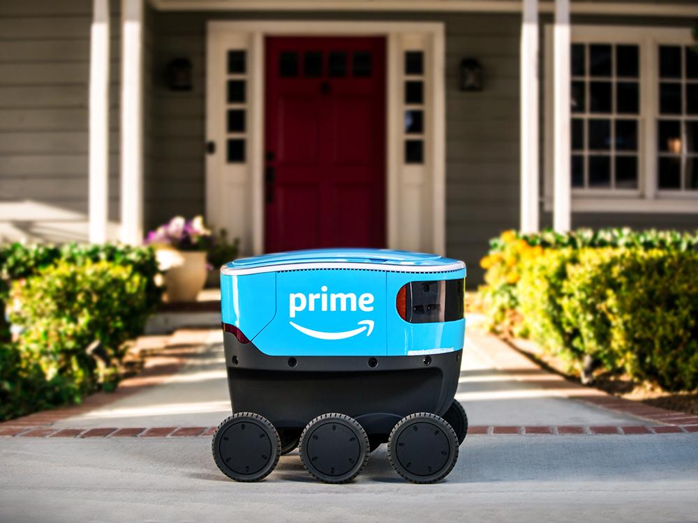 Amazon Scouts, un robot golpea a tu puerta. La revolución del delivery