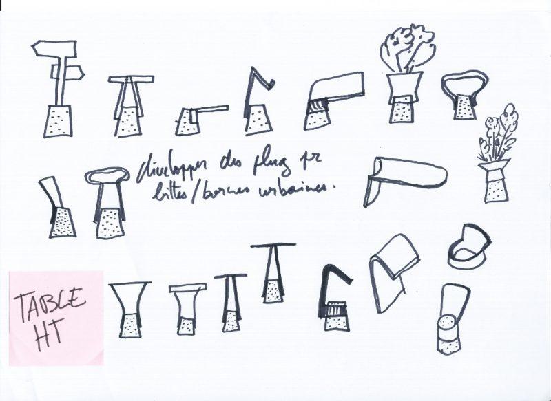 Boll, el mobiliario urbano de Adrian Blanc. La vida paralela de los bolardos