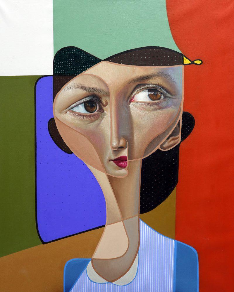 Postneocubismo, serie de pinturas de Belin: cuando el spray y el cubismo se encuentran