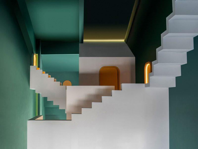The Other Place, el surrealismo constructivo de Studio 10. Inspiración Escher