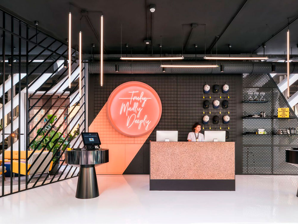 The Student Hotel Florencia, 2018, Estudio Rizoma. © Sal Marston Photography