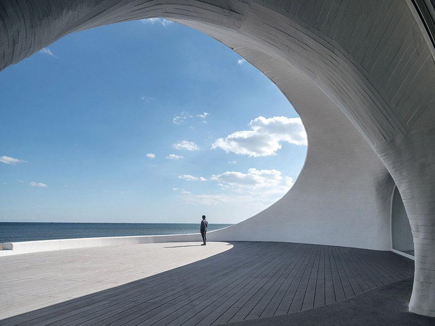 UCCA Dune, de estudio Open. Un museo de arte enterrado en la arena
