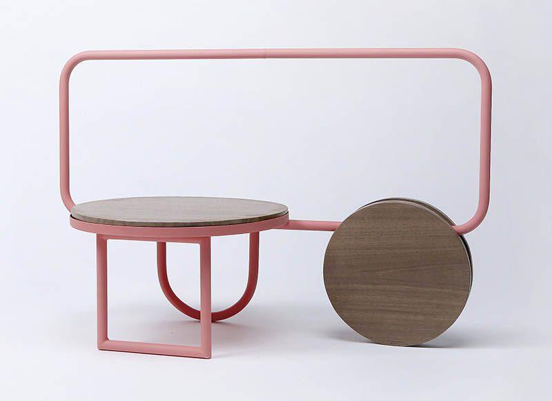 Futura Project, la colección de mobiliario inspirada en la famosa tipografía de Paul Renner