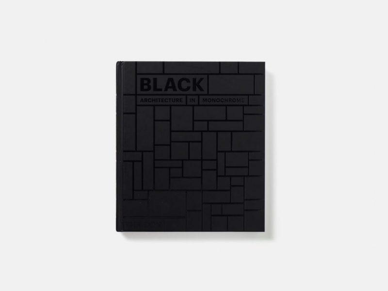 Black: Architecture in Monochrome, 224 páginas de arquitectura negra
