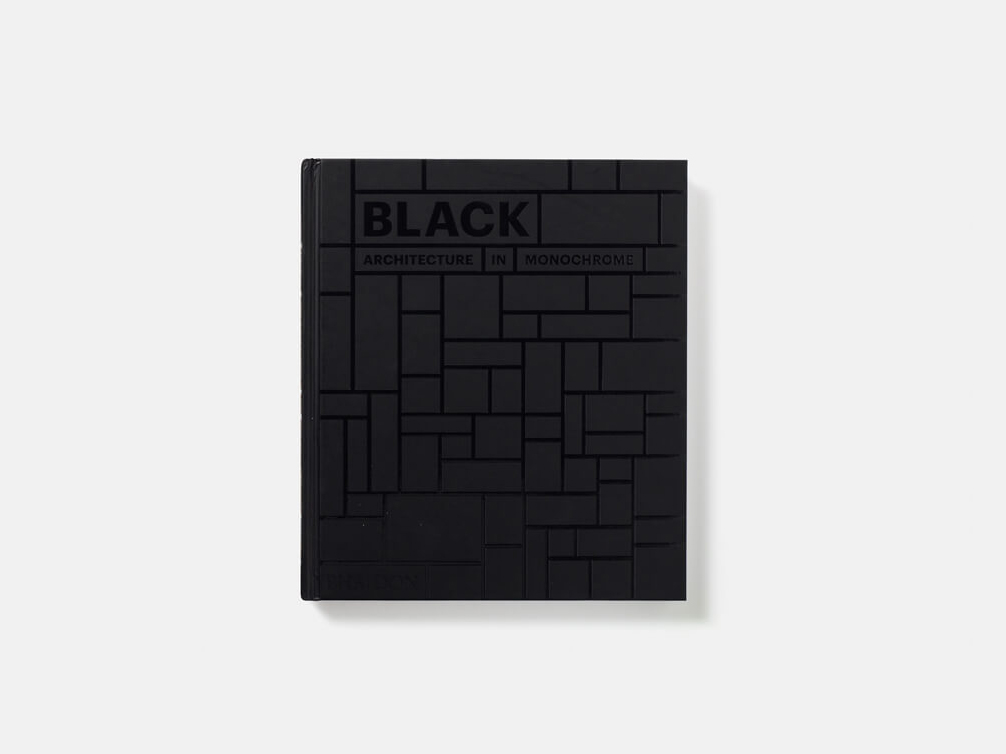 Black: Architecture in Monochrome, 224 páginas de arquitectura negra