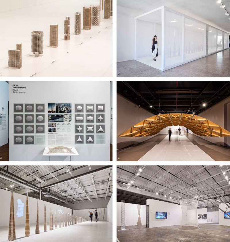Exposición sobre SOM y su integración con el diseño arquitectónico