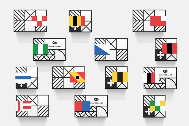 Helvetimart, el regionalismo según Anagrama. Diseñar una marca en Suiza