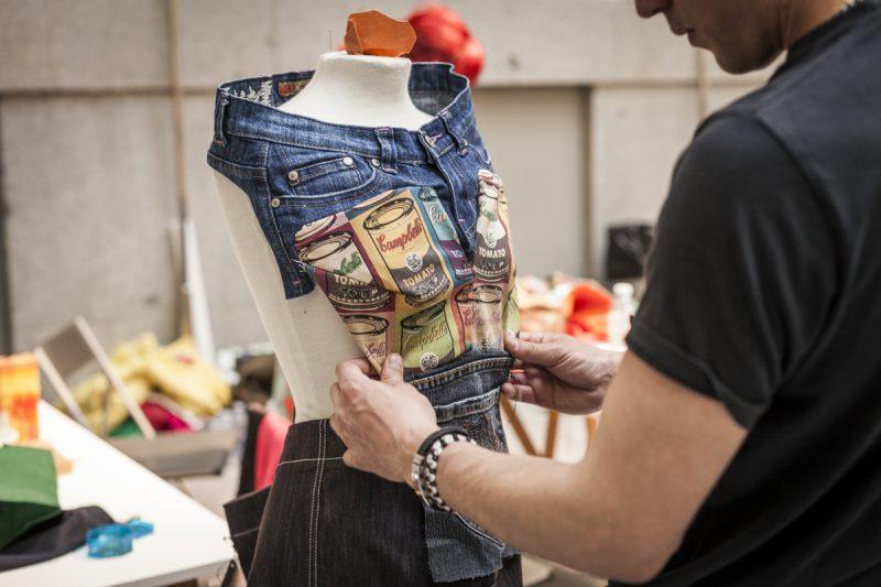 Maratón de reciclaje textil creativo en La Casa Encendida