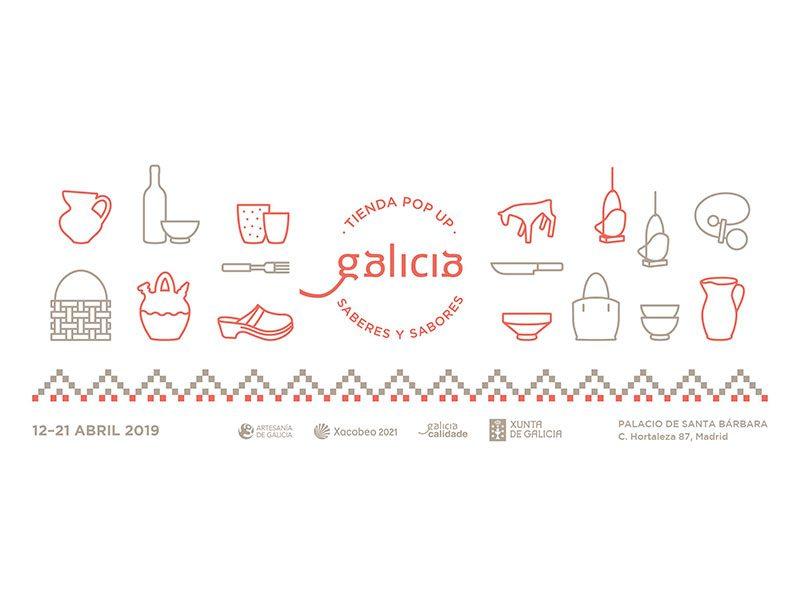 Pop Up Galicia, Saberes y Sabores regresa a Madrid con una selección de piezas de la marca Artesanía de Galicia y exclusivos productos y actividades gastronómicos