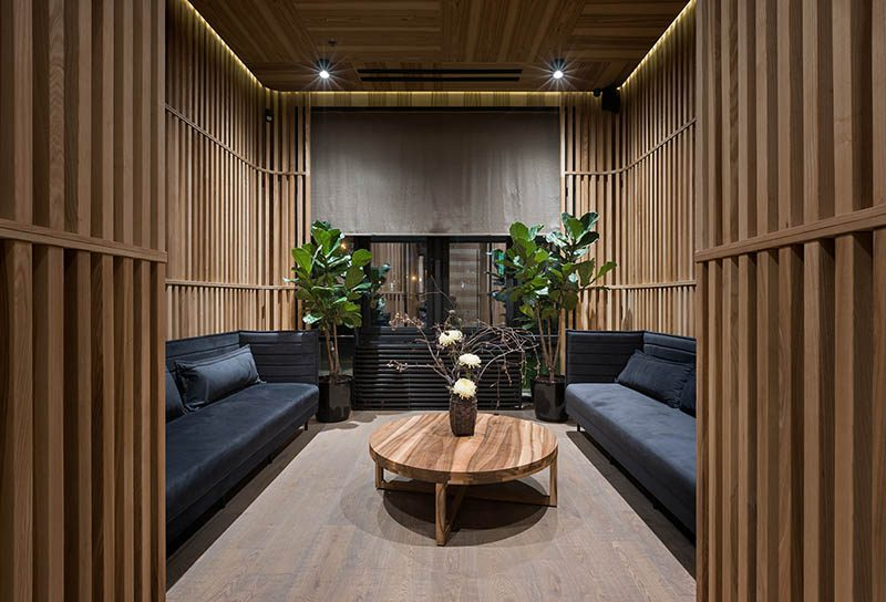 Fujiwara Yoshihiro. Homenaje a la cultura japonesa, en el restaurante diseñado por Sergey Makhno