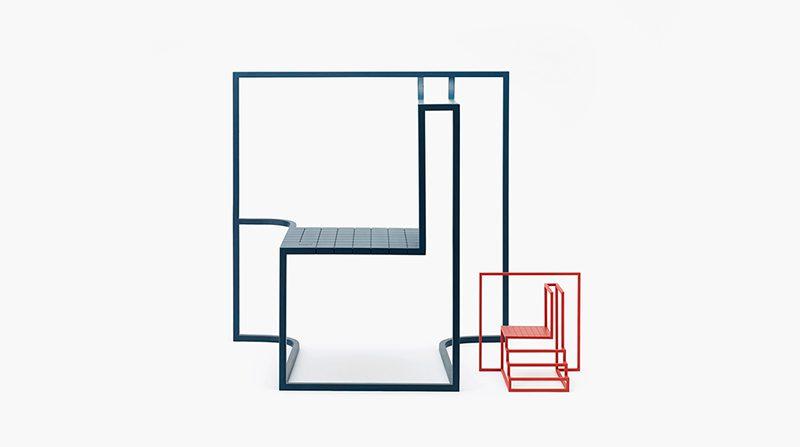 Shadows in the Window, de Ponti Design Studio. La densidad urbana hecha silla