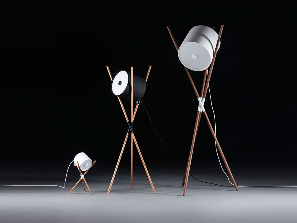 Shift Lamp, colección de lámparas de Regular Company. Un homenaje a la simplicidad