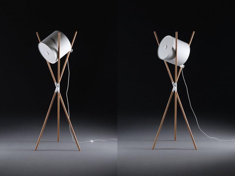 Shift Lamp, la lámpara auto-ensamblable de Regular Company