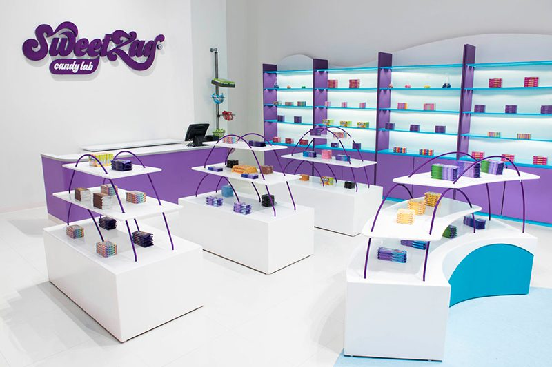 SweetZag, el onírico laboratorio de dulces de Anagrama
