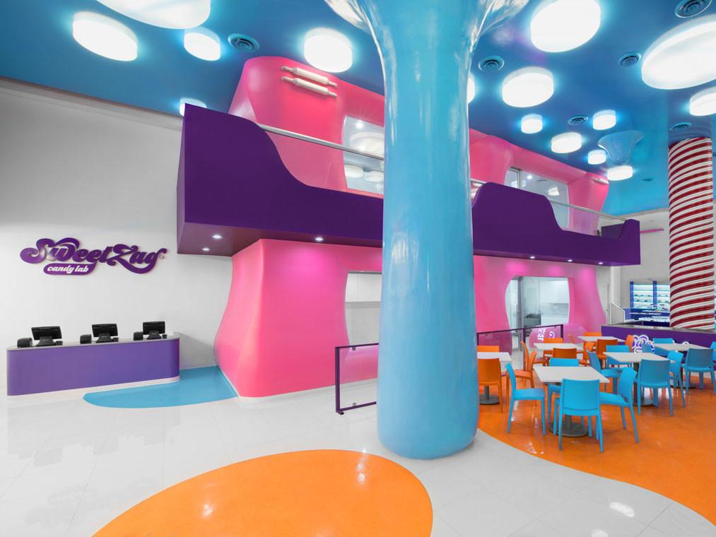 SweetZag, el onírico laboratorio de dulces de Anagrama. Surrealismo y color a partes iguales