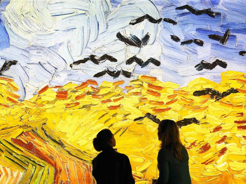 Meet Vincent Van Gogh Experience, exposición interactiva dedicada al genio holandés