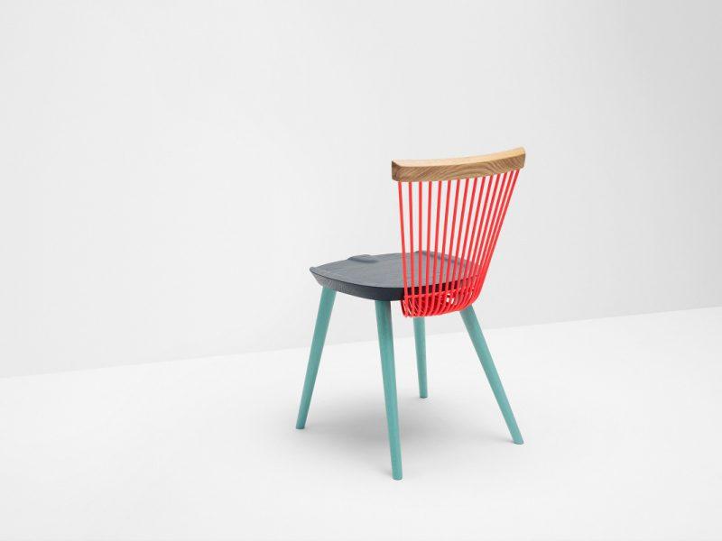 WW Chair, de Studio Makgill para Hayche. La reinterpretación de un éxito a través del color
