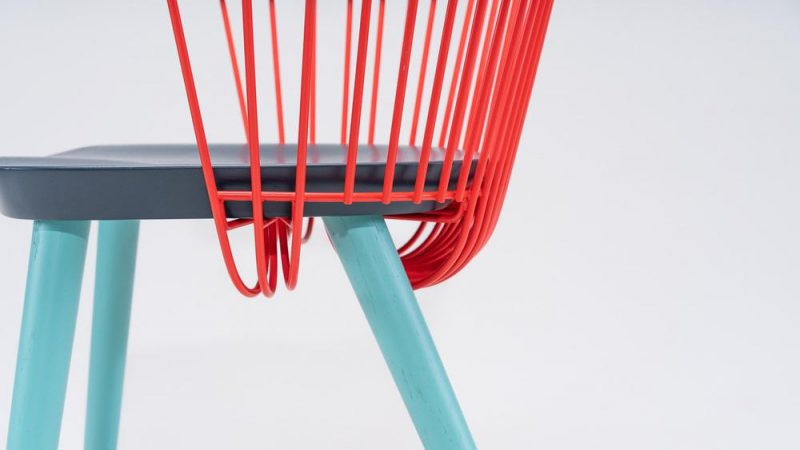 WW Chair, de Studio Makgill para Hayche. La reinterpretación de un éxito a través del color. © Hayche