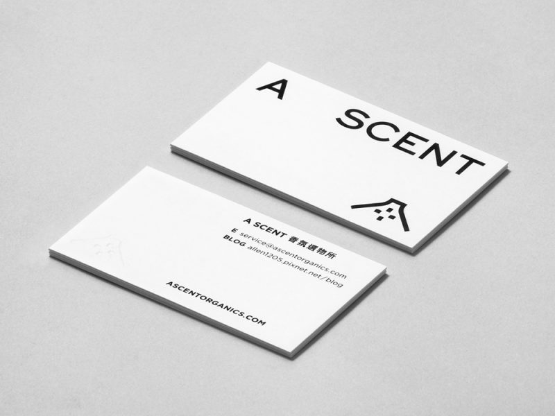 AScent, branding de Nomo Creative. La arquitectura tradicional taiwanesa como fuente de inspiración
