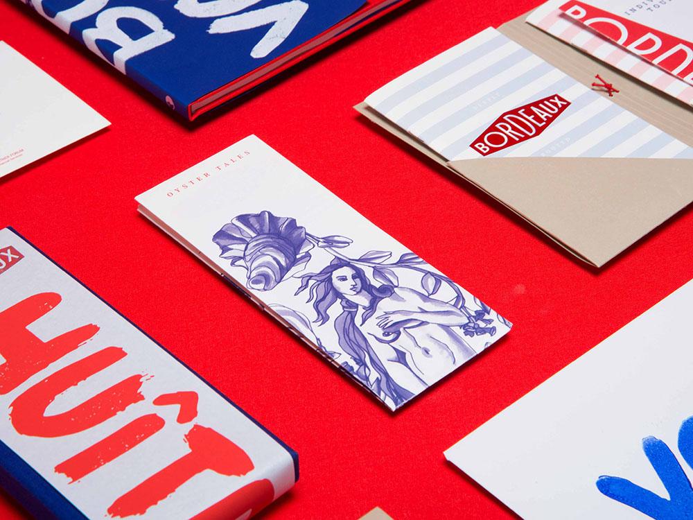 Branding con espíritu francés de Paperlux. Elementos gráficos a mano alzada