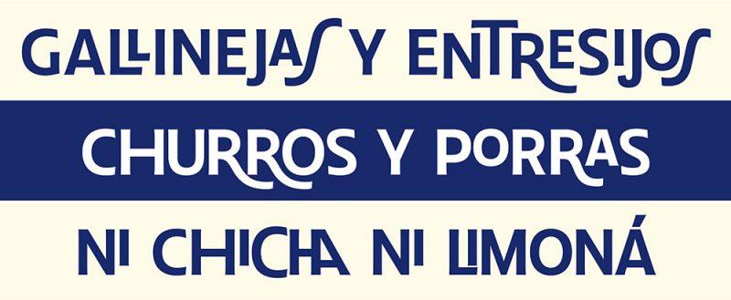 Chulapa, ya puedes descargar de forma gratuita la tipografía de Madrid