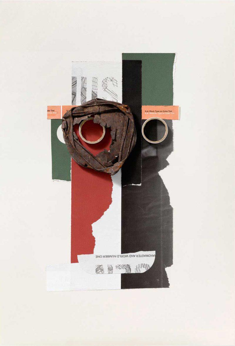 Collages de rompe y rasga, una muestra de Emilio Gil