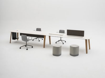 Mesa LTS System, máxima personalización para espacios de trabajo modernos