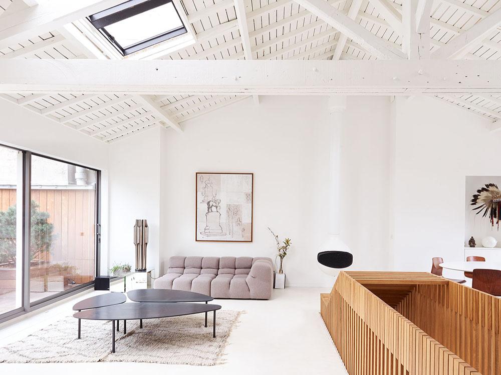 05 AM Arquitectura reforma un ático en París. Diseño catalán en la ciudad de la luz