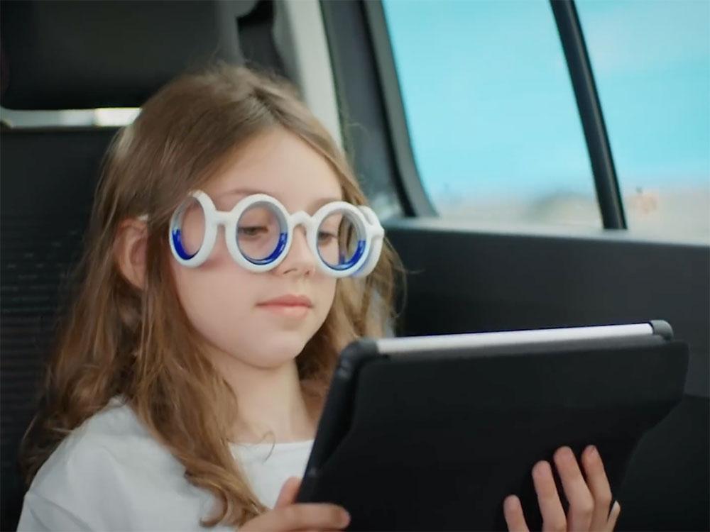 Seetroën, las gafas de Citroën para luchar contra el mareo cinético