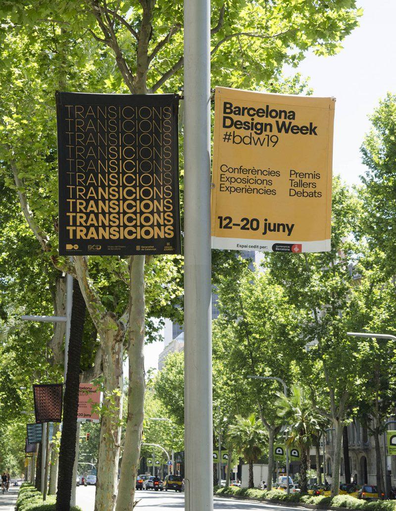 Barcelona Design Week 2019: dinamismo y flexibilidad en la gráfica de Esiete