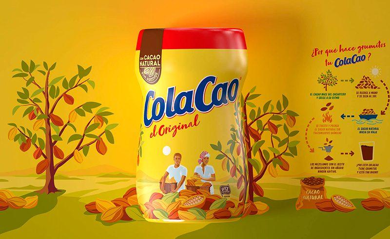 Batllegroup rediseña el branding de ColaCao: cercanía y transparencia