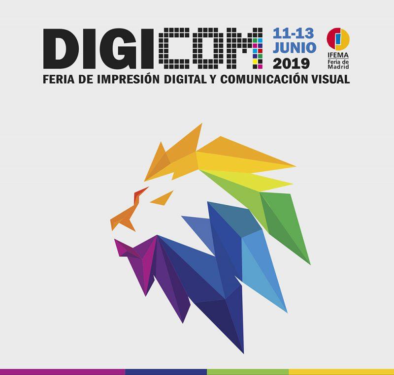 Digicom, Feria de Impresión Digital y Comunicación Visual. 11, 12 y 13 de junio en Madrid