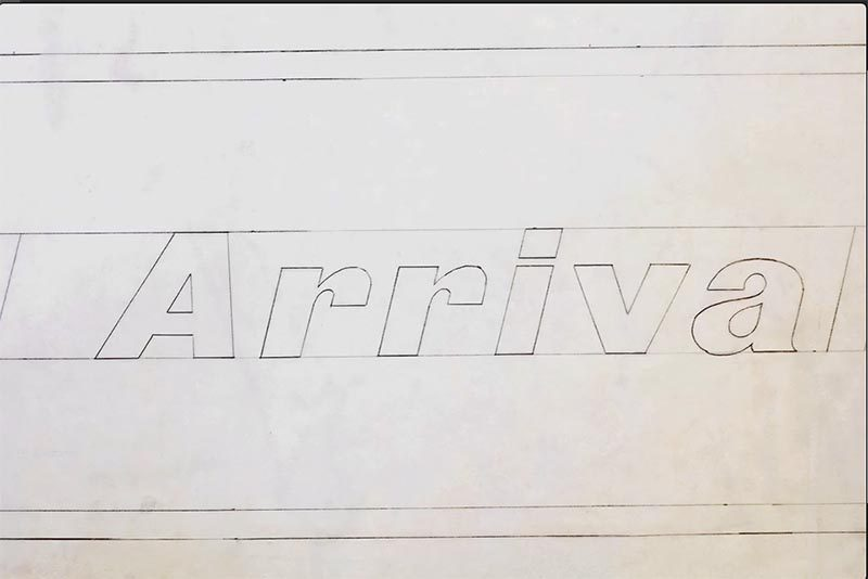 Flight Center Gothic. Pentagram reversiona la tipografía de Ero Saarinen para el Hotel TWA
