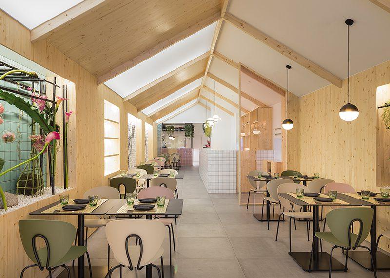 Restaurante Kamon: fusión japo-nórdica en Valencia. De Nonna Design © David Zarzoso